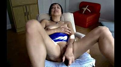 Asian masturbation, Asian granny