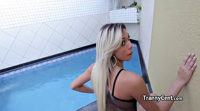 Tranny, Black tranny, Shemale fucks guy