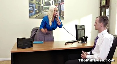 Boss, Milf boss, Office boss