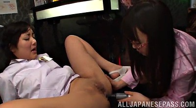 Nurse, Vibrator, Asian strapon