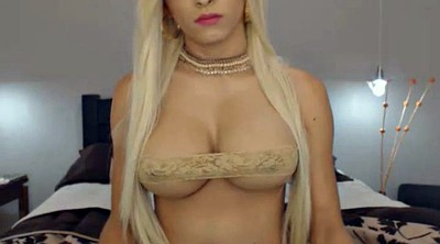 Blonde shemale, Busty shemale