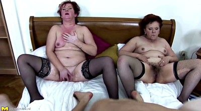 Mother son, Mature group, Young son, Granny group, Mature gangbang, Young milf