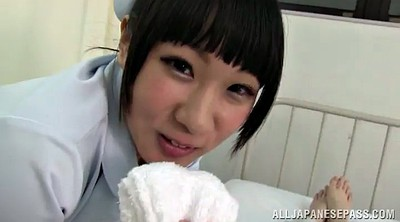 Sitting, Rough fuck, Asian nurse