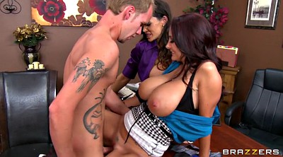 Lisa ann, Ava addams, Office, Busty mom, Ann mom, Addams