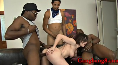 Gangbang, Pretty, Black girl