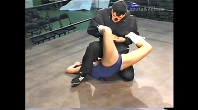 Wrestling, Japanese bdsm, Mix, Japanese amateur, Fighting, Mixed wrestling