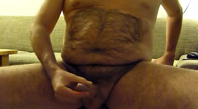 Hairy solo, Gay chubby, Hairy masturbation