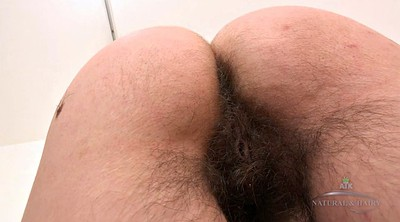 Hairy solo, Ass show, Big ass solo