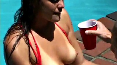 Pool, Outside, Throated