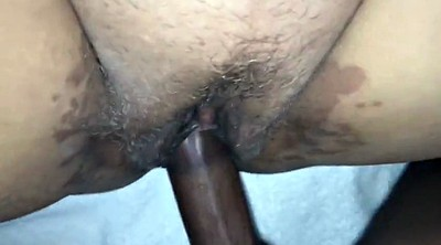 Orgasm, Clit, Interracial creampie