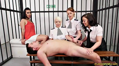 Cosplay, Prison, Clothed, Clothed sex