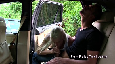 Ass, Female, Driver, Public car, In car, Female taxi