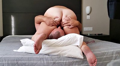 Mature couple, Wife orgasms, Amateur mature