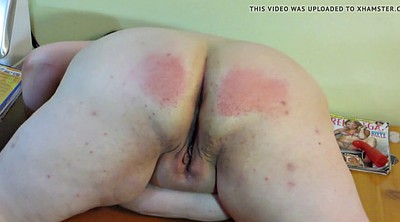 Spanking wife, Punish, Pale, Spank wife, Plump