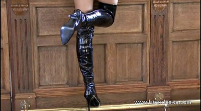 Boot, Olivia, Latex rubber
