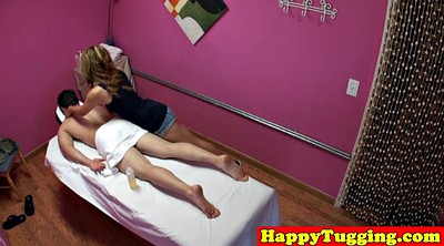 Asian massage, Caught masturbating