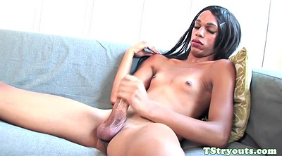 Shemale and shemale, Casting amateur