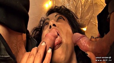 Chubby anal, Cum in, French dp, Dp milf, Double penetration amateur, Amateur cum in mouth