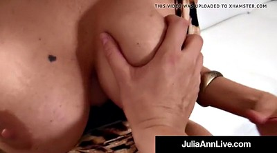 Julia ann, Anne, Mature handjob