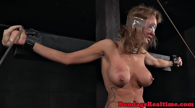 Nipples, Spanked, Caning, Screaming, Breast bondage