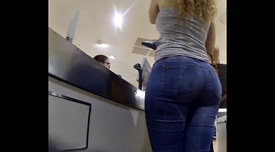 Jeans, Jeans ass, Big ass blonde