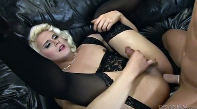 Doggy, Shemale fucked, Shemale fuck guy, Shemale blowjob