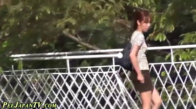 Japanese pee, Caught