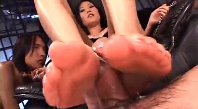 Asian foot, Japanese bondage, Japanese foot, Japanese femdom, Yui, Asian foot fetish