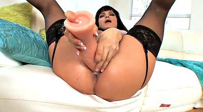 Stocking, Orgasm, Long dildo