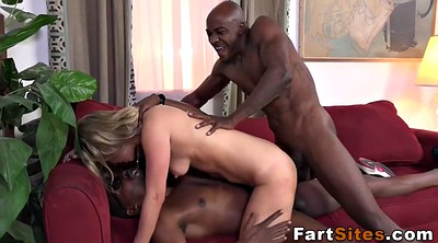 Rimming threesome, Big ass black