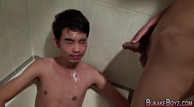 Japanese piss, Facial, Japanese gay