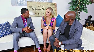 Julia ann, Interracial mature