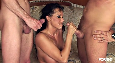 Hot milf, Team, Old threesome, Old milf