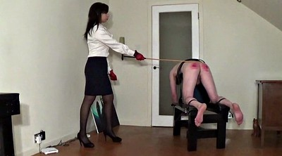 Spanked hard, Miss