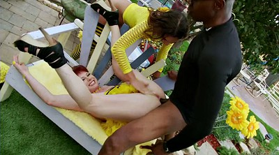 Prolapse, Anal prolapse, Extreme anal, Outdoor anal, Amber, Bff