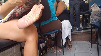 Foot, Brazilian, Toes, Candid foot, Candid feet, Candid