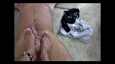Feet masturbation, Foot masturbation, Muscle, Milf feet