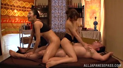 Asian massage, Asian threesome