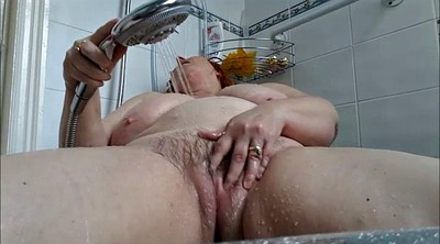 Wife masturbating, Bbw shower, Bbw wife