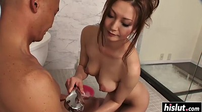 Japanese bondage, Hand job