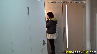 Asian teen, Public pee, Public peeing, Asian public, Asian hidden
