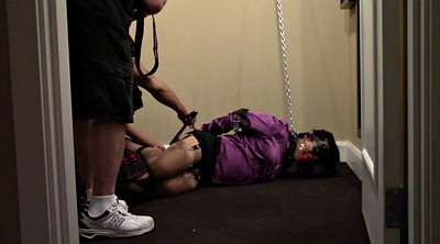Hotel, Asian office, Asian bdsm, Hogtied