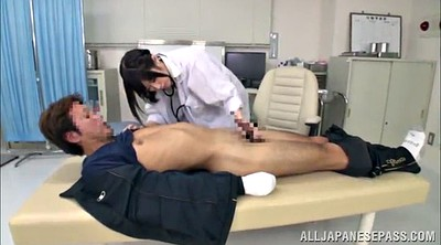 Nurse, Asian tits, Hand job, Asian nurse