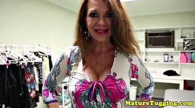 Mature, Taboo, Mom handjob