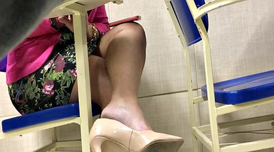 Heels, High heels, High, Candid, Shoeplay, Tatoo
