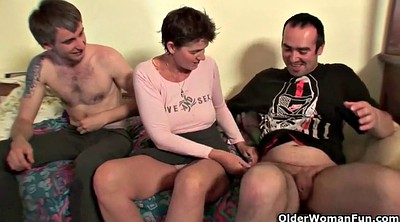 Old young, Mom sex, Old couple, Mom orgasm
