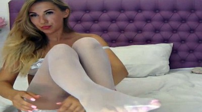 Nylon, White stocking, Stocking foot