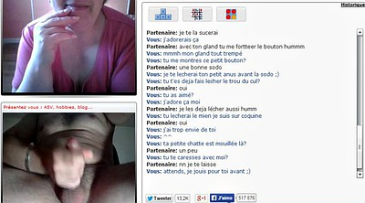 French, Voyeur masturbation, French mature, Chatroulette
