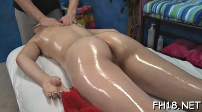 Leg, Oil massage, Spread