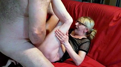 Mature creampie, Amateur couple